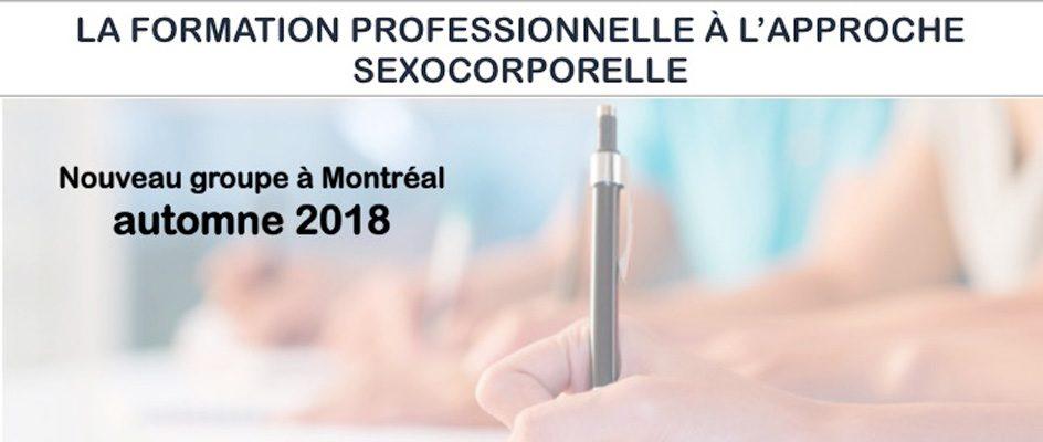 Formation professionnelle en Sexocorporel
